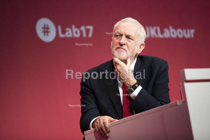 Jeremy Corbyn Labour Party Conference, Brighton 2017 - Jess Hurd - 2017-09-24