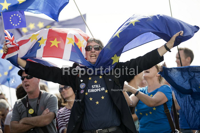 Pro EU protesters, Labour Party Conference, Brighton 2017 - Jess Hurd - 2017-09-24