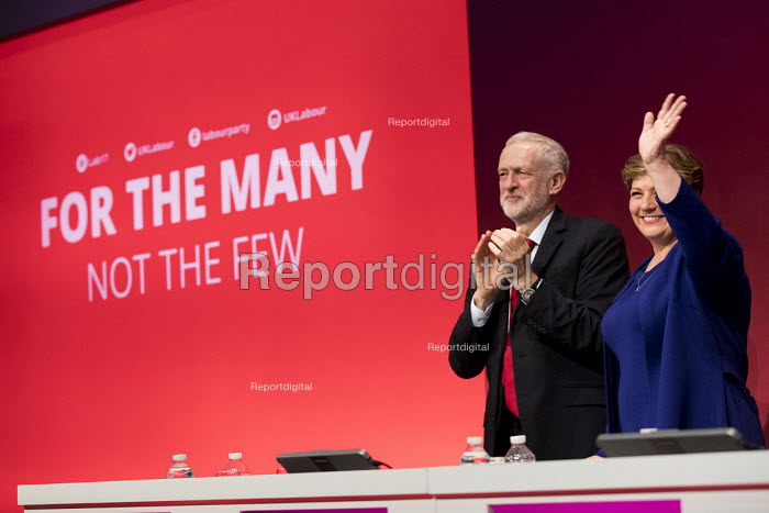 Emily Thornberry and Jeremy Corbyn Labour Party Conference, Brighton 2017 - Jess Hurd - 2017-09-25
