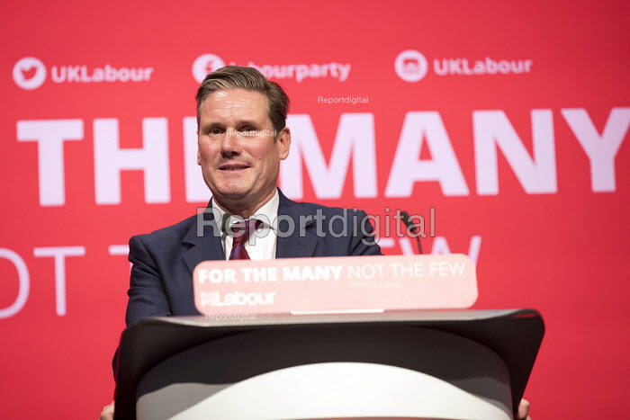 Keir Starmer speaking Labour Party Conference, Brighton 2017 - Jess Hurd - 2017-09-25