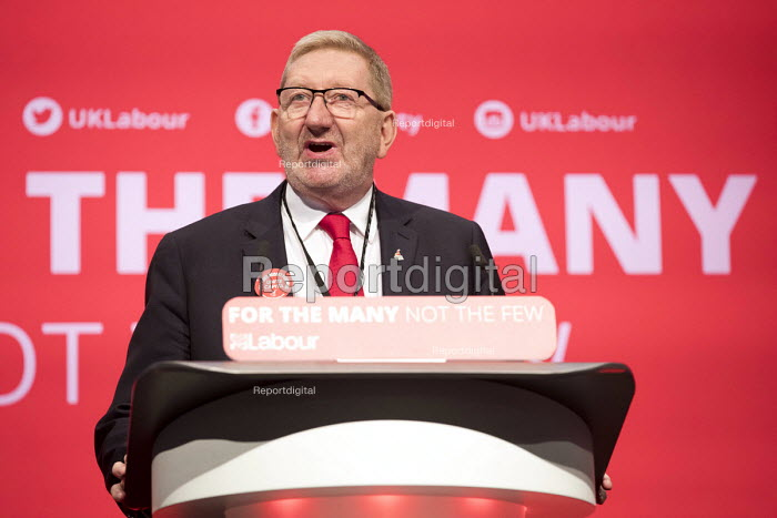 Len McCluskey speaking Labour Party Conference, Brighton 2017 - Jess Hurd - 2017-09-25