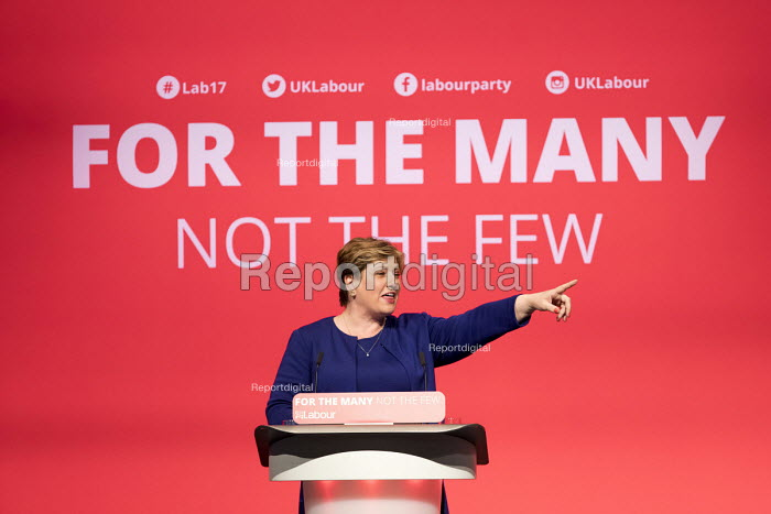 Emily Thornberry speaking Labour Party Conference, Brighton 2017 - Jess Hurd - 2017-09-25