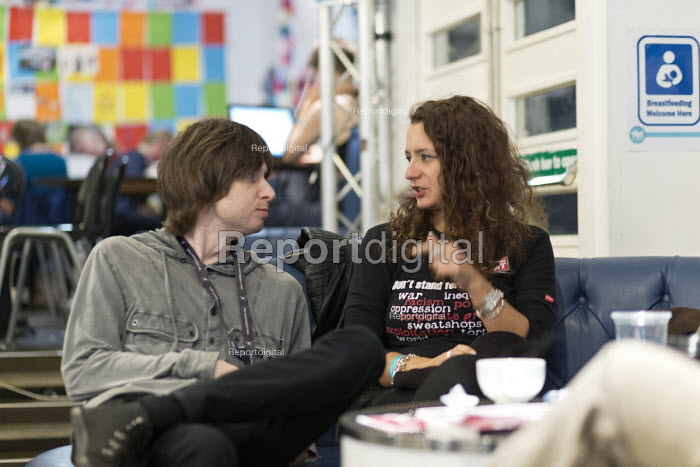 In discussion, Synergy Centre, The World Transformed, Labour Party conference, Brighton 2017 - John Harris - 2017-09-25