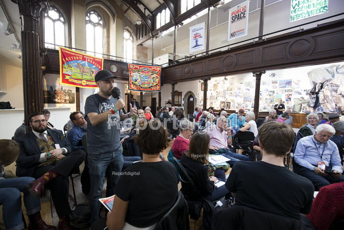 The Northern Way, Fabrica, The World Transformed, Labour Party conference, Brighton 2017 - John Harris - 2017-09-25