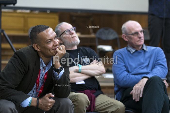 Clive Lewis MP, The Northern Way, Fabrica, The World Transformed, Labour Party conference, Brighton 2017 - John Harris - 2017-09-25