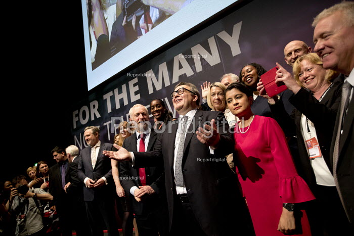 Jeremy Corbyn, Tom Watson and the Shadow Cabinet, Labour Party Conference, Brighton 2017 - Jess Hurd - 2017-09-26