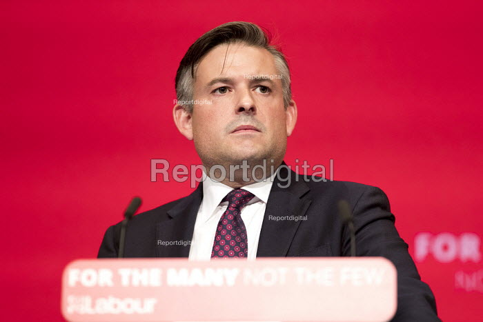 Jonathan Ashworth MP speaking Labour Party Conference, Brighton 2017 - Jess Hurd - 2017-09-26