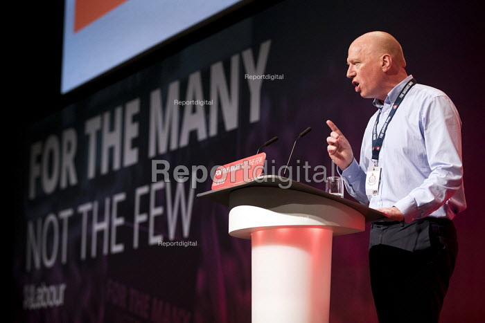 Matt Wrack, FBU speaking Labour Party Conference, Brighton 2017 - Jess Hurd - 2017-09-26