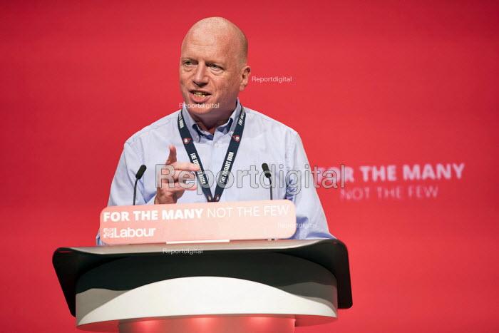 Matt Wrack, FBU speaking Labour Party Conference, Brighton 2017 - Jess Hurd - 2017-09-26