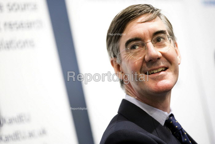 Jacob Rees-Mogg speaking Conservative Party Conference, Manchester 2017 - Jess Hurd - 2017-10-01