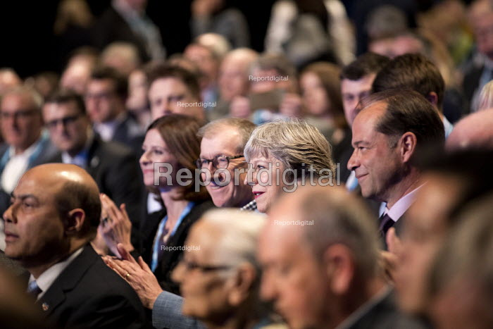 Theresa May and Philip May, Conservative Party Conference, Manchester 2017 - Jess Hurd - 2017-10-01