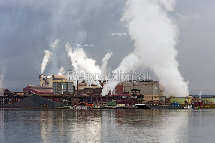 Sault Ste. Marie, Ontario, Canada Algoma steel mill on the shore of the St. Marys River - Jim West - 2017-09-05