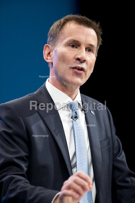Jeremy Hunt speaking Conservative Party Conference, Manchester 2017 - Jess Hurd - 2017-10-03