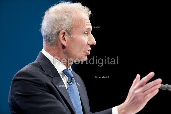 David Lidington speaking Conservative Party Conference, Manchester 2017 - Jess Hurd - 2017-10-03