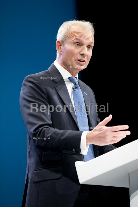 David Lidington speaking Conservative Party Conference, Manchester 2017 - Jess Hurd - 2017-10-03