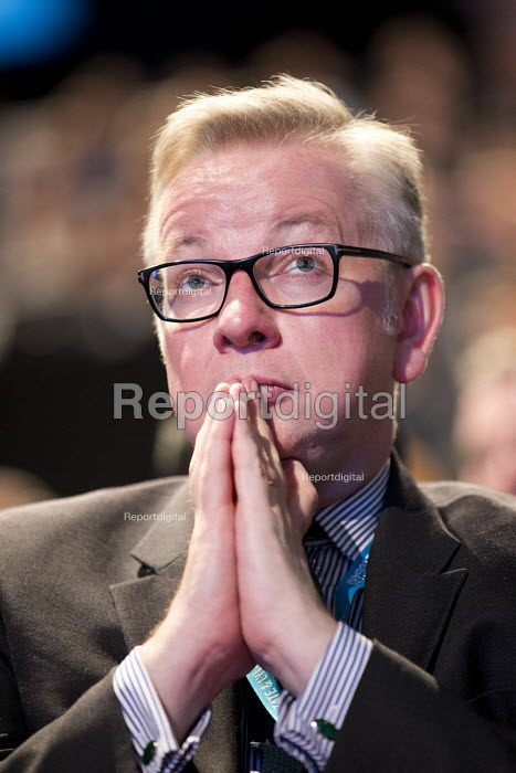 Michael Gove, Conservative Party Conference, Manchester 2017 - Jess Hurd - 2017-10-03