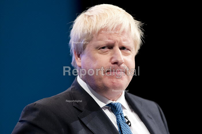 Boris Johnson speaking Conservative Party Conference, Manchester 2017 - Jess Hurd - 2017-10-03
