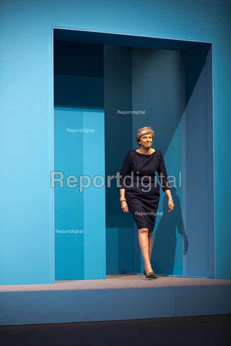 Theresa May speaking Conservative Party Conference, Manchester 2017 - Jess Hurd - 2017-10-04
