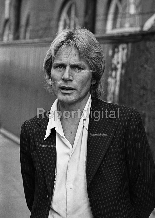 Singer Adam Faith promoting the vehicle seat belt, London... - NLA, NLA17052141.jpg