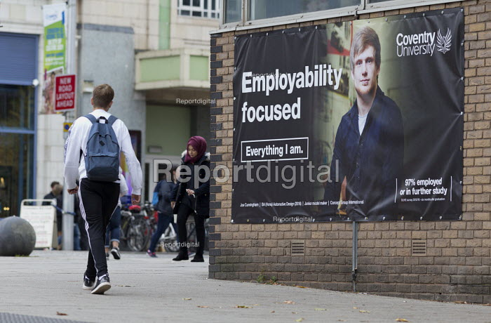 Students, Coventry University. Employment Focused advertisment - John Harris - 2017-10-10