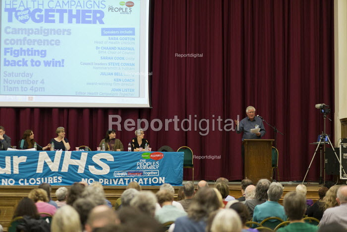 John Lister HCT speaking Health Campaigns Together... - John Harris, J1711HCT052.jpg