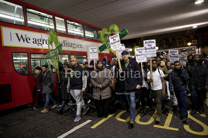 Justice for Grenfell silent walk, Kensington and Chelsea... - Jess Hurd, jj1711059.jpg
