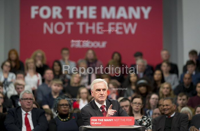 John McDonnell speaking Labour Party Rally West Bromwich - John Harris, J1711WB20.JPG