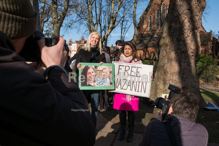 Tulip Siddiq MP, rally for the release of her constituent... - Philip Wolmuth, pw1711037.jpg