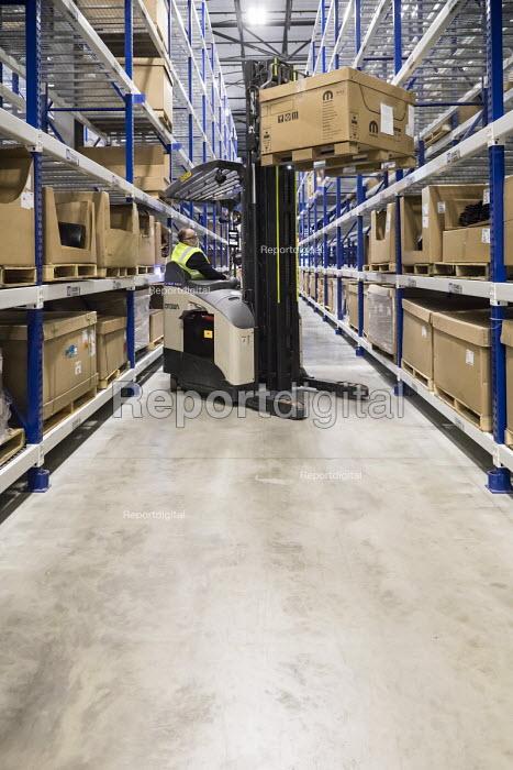 Romulus Michigan USA Mopar auto parts distribution centre. Mopar is the auto parts operation of Fiat Chrysler Automobiles - Jim West - 2017-12-06