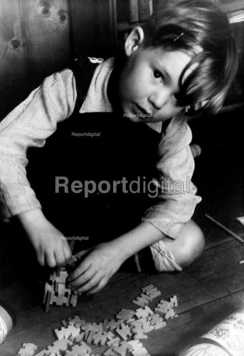 Play therapy for traumatised children in post war Germany... - Margarete Stueber, RAMAR47B.jpg