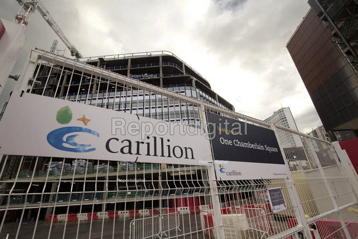 Carillion liquidation has put thousands of jobs at risk. Work has stopped on the 700 million Paradise redevelopment in Birmingham city centre - John Harris - 2018-01-15