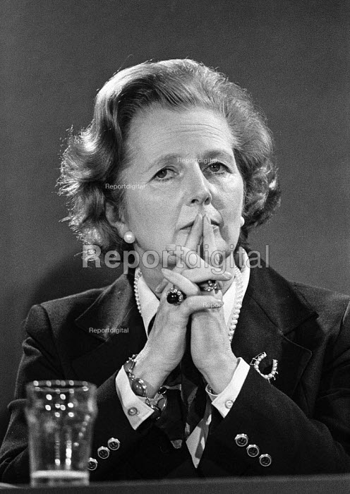 Margaret Thatcher, EEC election campaign press conference 1979 - Martin Mayer - 1979-05-18
