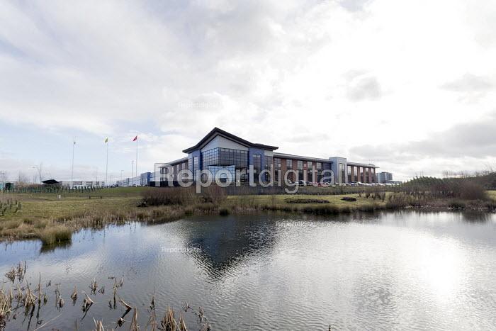 LEVC London EV Company electric Taxi factory, Coventry - John Harris - 2018-01-18
