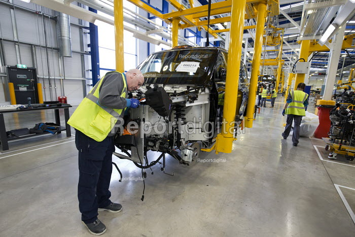 LEVC London EV Company electric Taxi factory, Coventry - John Harris - 2018-01-18