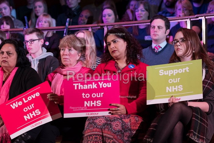 Labour Care for the NHS rally, Central Hall Westminster, London. Save Our Hospital campaign - Philip Wolmuth - 2018-01-25
