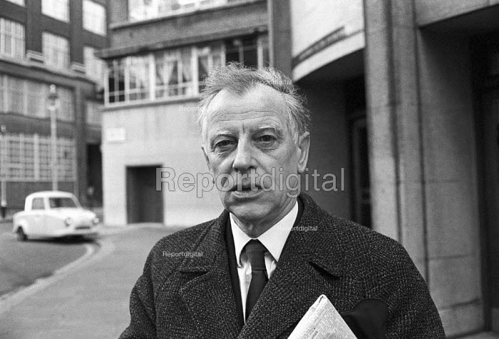 Reg Birch, AUEW trade union leader and political activist, 1975 National officer of the AUEW, and a member of the TUC general council, he became a follower of Chariman Mao - NLA - 1975-01-25