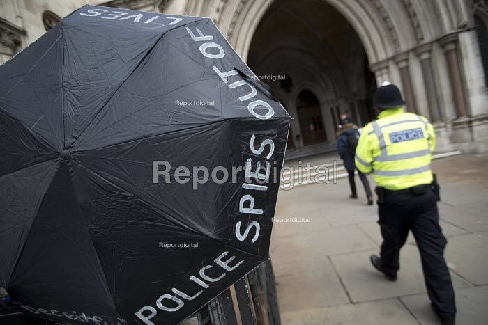 Spycops Pitchford Inquiry, Royal Courts of Justice, London - Jess Hurd - 2018-02-05