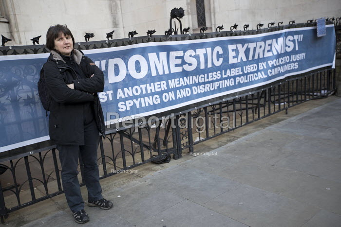 Helen Steel, Spycops Pitchford Inquiry, Royal Courts of Justice, London - Jess Hurd - 2018-02-05