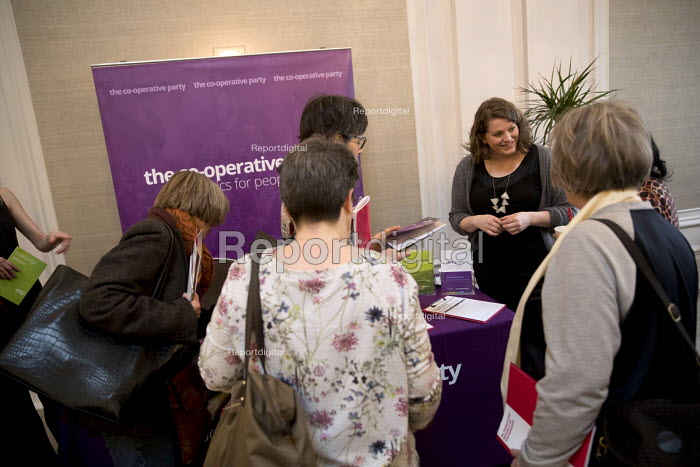 Co-Operative Party stand, New Economics, Alternative Models of Ownership Labour Party conference, London - Jess Hurd - 2018-02-10