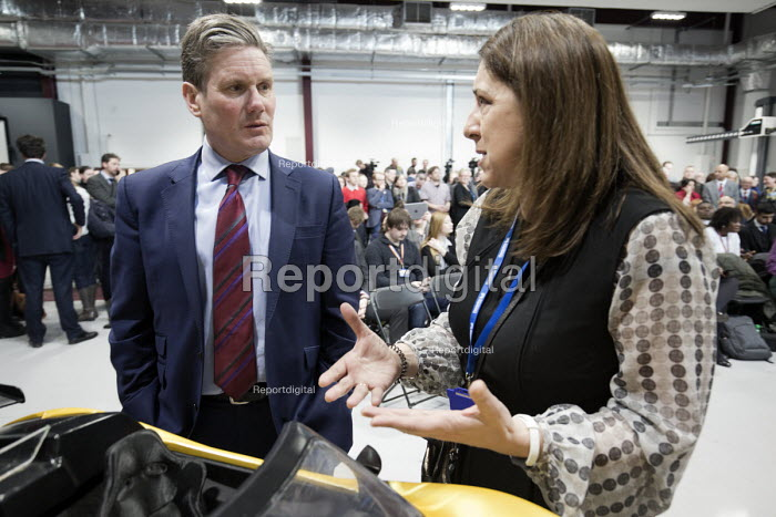 Keir Starmer MP Labour Party Jobs First Brexit speech, Coventry University Technology Park - John Harris - 2018-02-26
