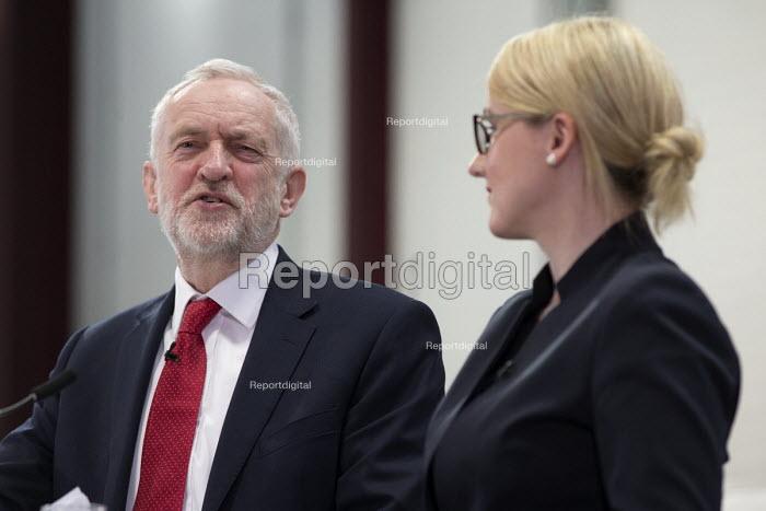 Jeremy Corbyn, Rebecca Long-Bailey MP, Labour Party Jobs First Brexit speech, Coventry University Technology Park - John Harris - 2018-02-26