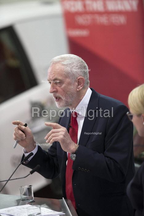 Jeremy Corbyn Labour Party Jobs First Brexit speech, Coventry University Technology Park - John Harris - 2018-02-26