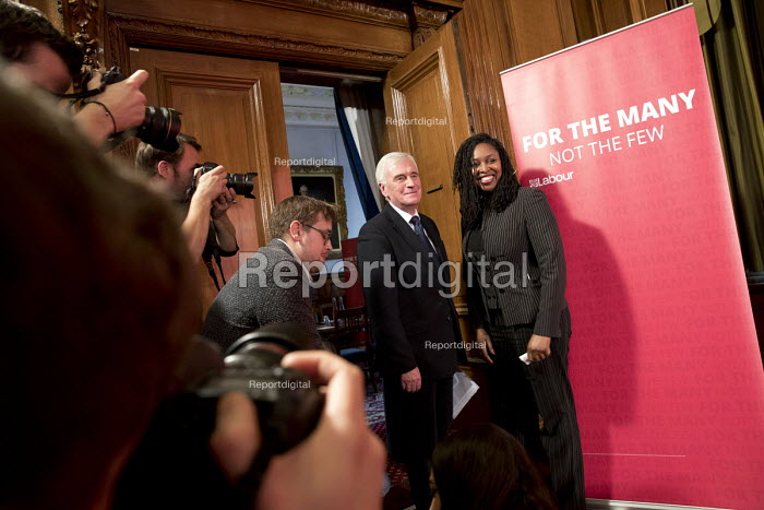 Dawn Butler MP and John McDonnell MP, Pre-Spring Statement speech, London - Jess Hurd - 2018-03-09