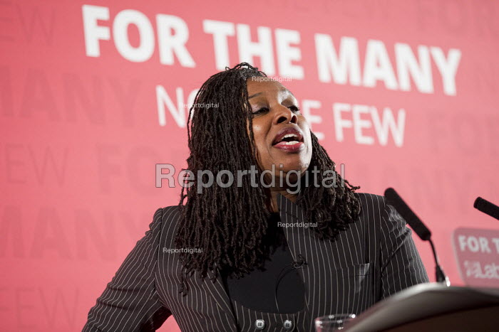 Dawn Butler MP introducing John McDonnell MP, Pre-Spring Statement speech, London - Jess Hurd - 2018-03-09