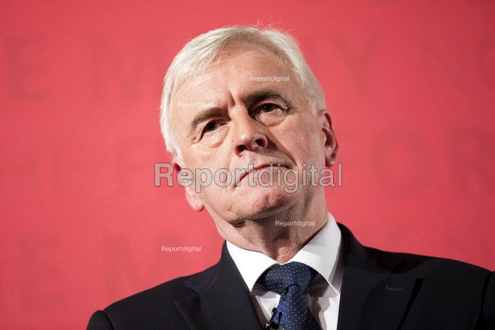 John McDonnell MP Pre-Spring Statement speech, London - Jess Hurd - 2018-03-09