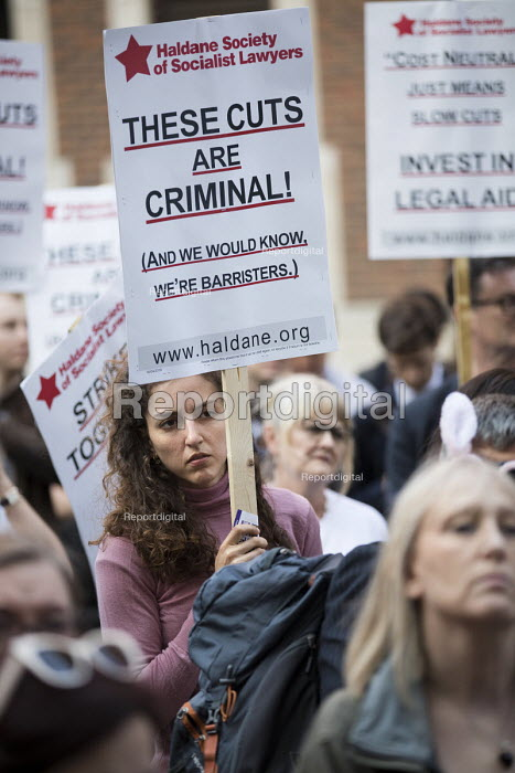 Vigil for Justice defending legal aid, Justice Alliance, Ministry of Justice, London - Jess Hurd - 2018-04-18