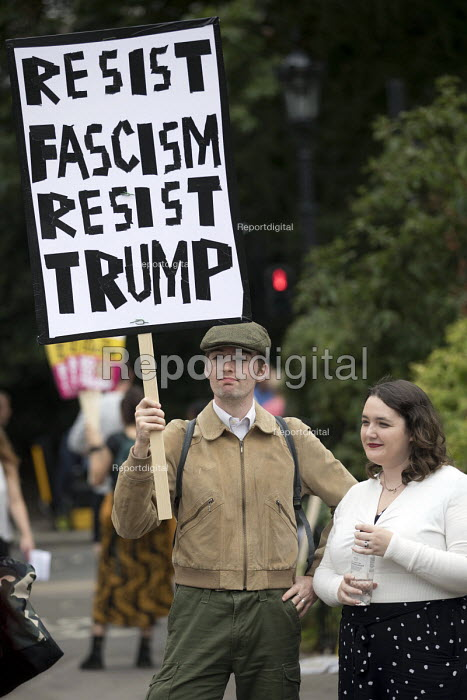 Protest against Donald Trump visiting the UK, Regents Park, London - Jess Hurd - 2018-07-12