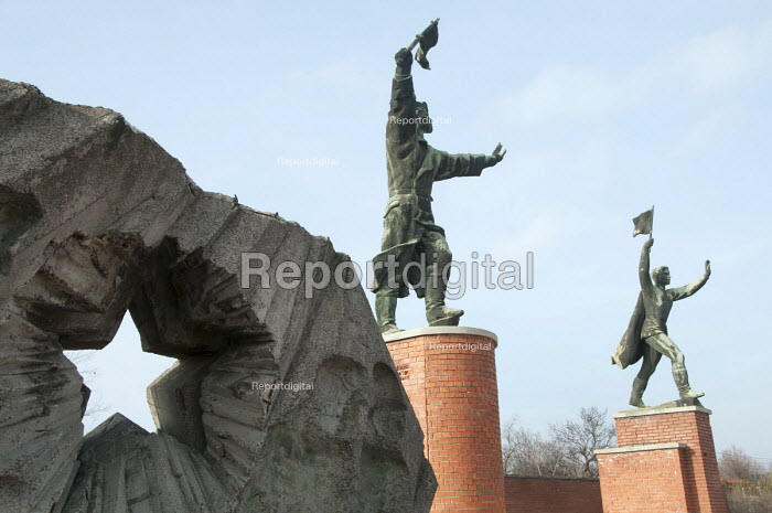 Soviet era statues relocated to Memento Park Museum, Budapest, Hungary - Janina Struk - 2014-01-02