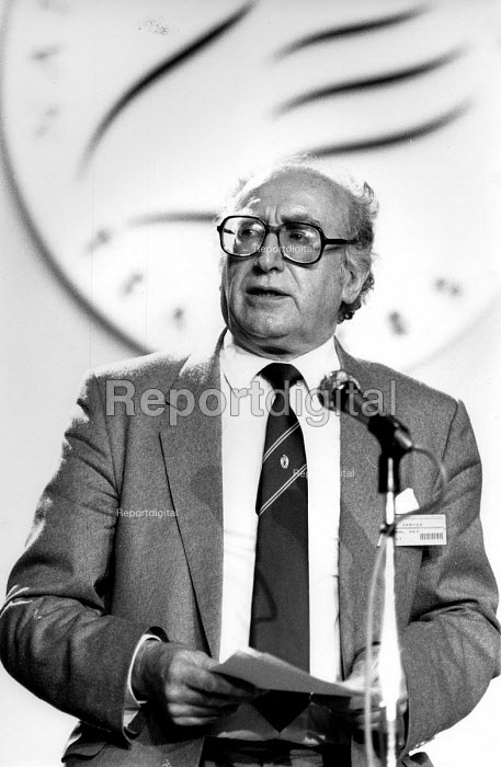 Fred Jarvis speaking NUT conference 1991 - John Harris - 1991-04-12