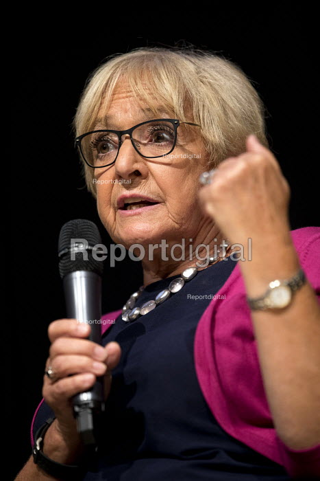 Margaret Hodge in conversation with Jonathan Freedland Jewish Labour Movement Conference, London - Jess Hurd - 2018-09-02